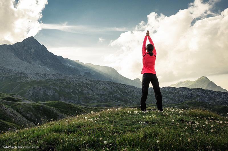 Yoga in Lech Zürs