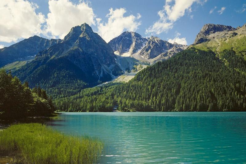 Wunderschöne Bergpanoramen in Südtirol
