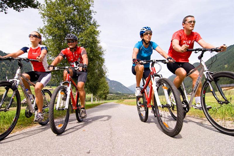 Radfahren in den Pustertaler Dolomiten