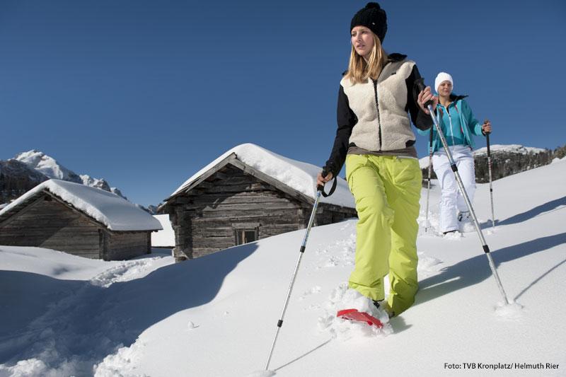 Schneeschuhwandern im Pustertal