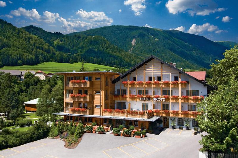Sommerurlaub im Hotel Brötz