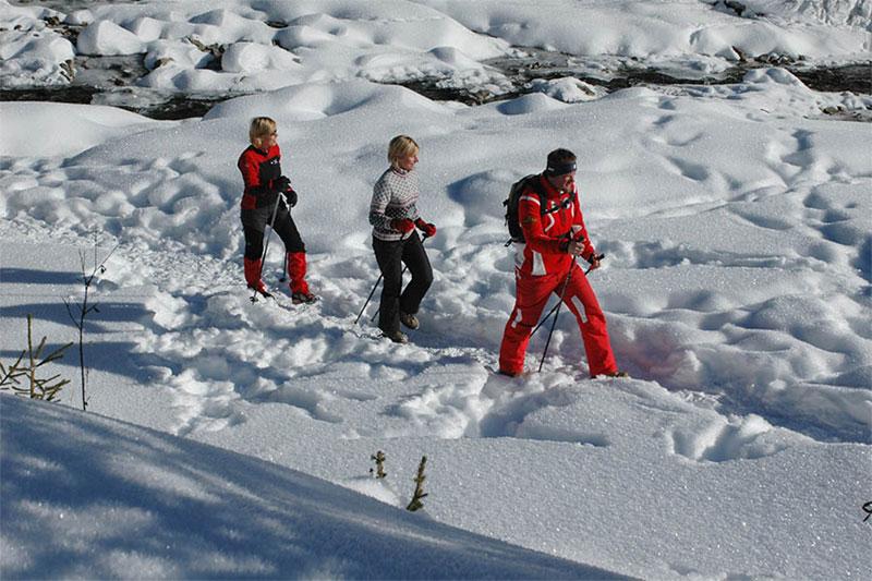 Winterwandern und Schneeschuhtouren im Gsieser Tal