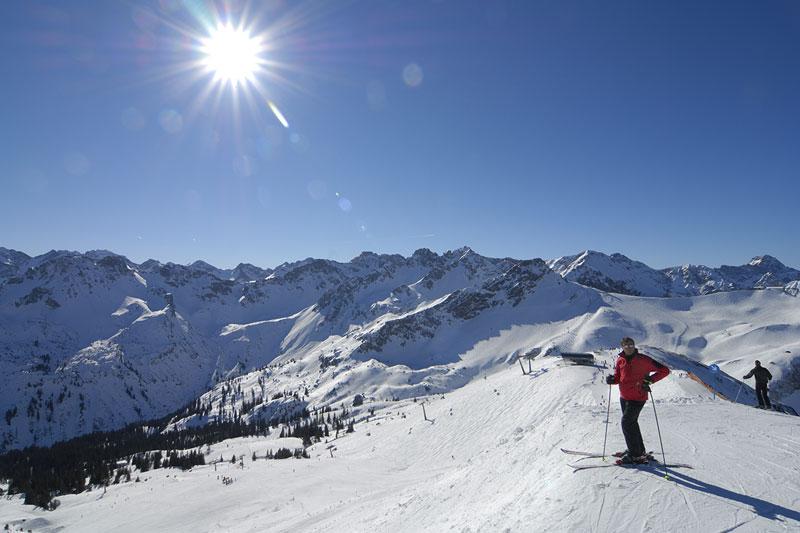 Skifahren im Skigebiet Fellhorn-Kanzelwand