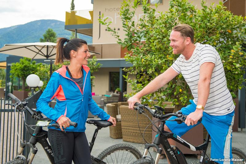 Radfahren im Meraner Land
