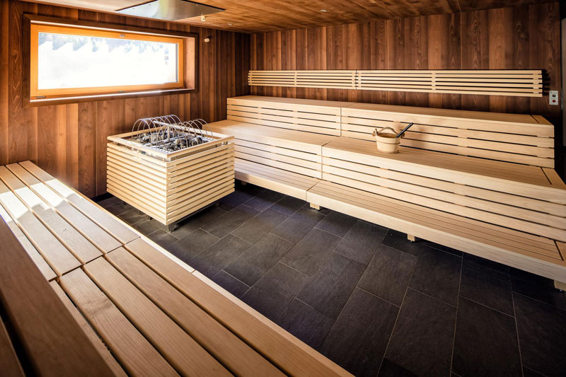 Quellalpin Sauna