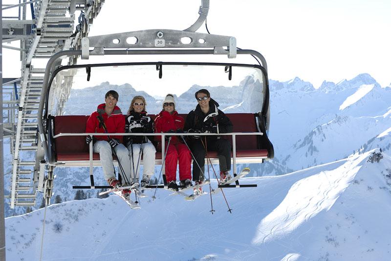 Skigebiet Fellhorn-Kanzelwand