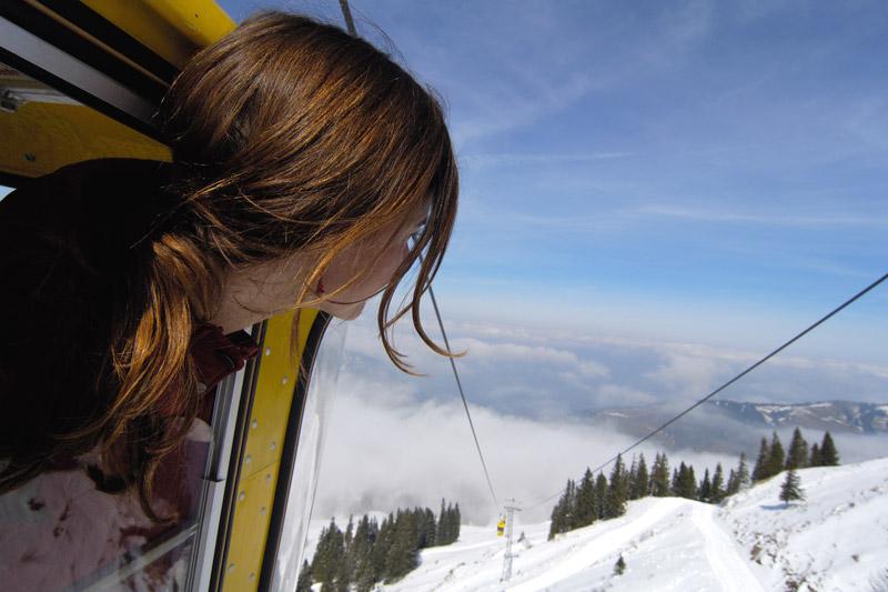 Mit der Hochgratbahn auf den Berg