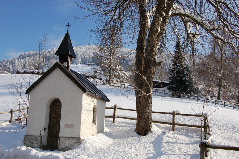 Kapellenwinter im Oberallgäu