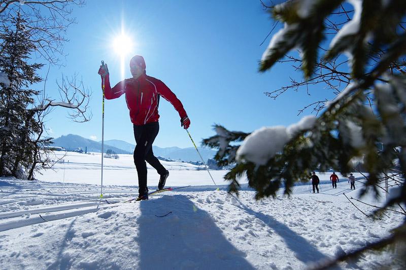 Langlaufen im Oberallgäu