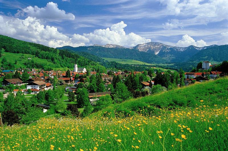 Sommerurlaub in Oberstaufen