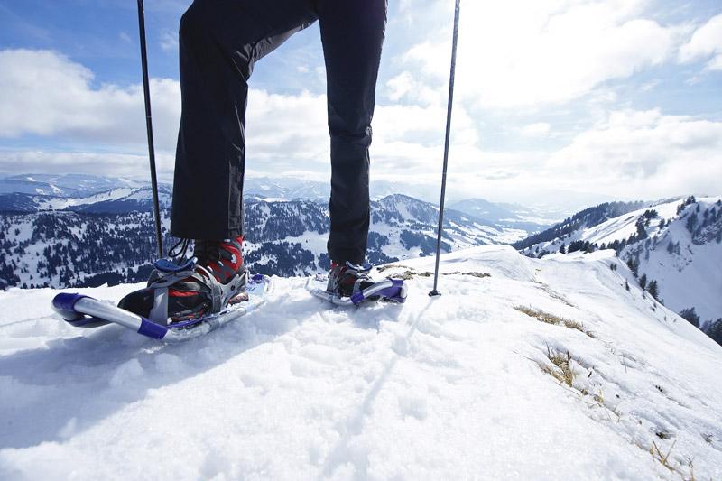 Schneeschuhwandern im Winterurlaub