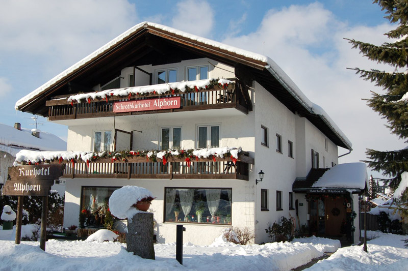 Winterurlaub im Schrothkurhotel Alphorn