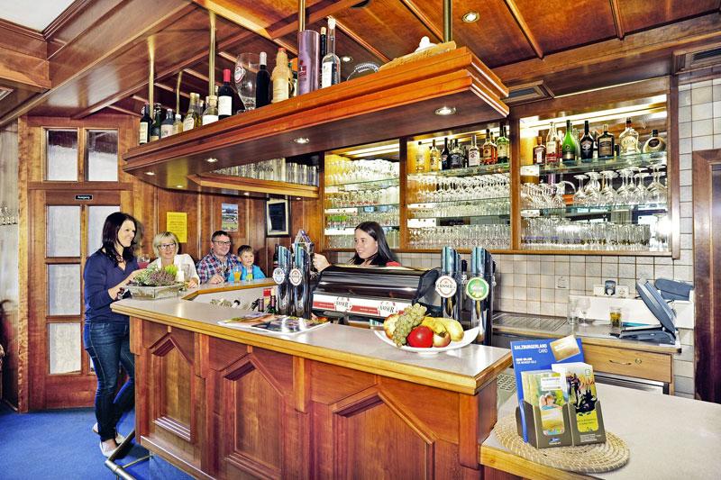 Bar im Hotel Unterreith
