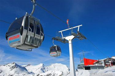 Schneesicherste Gletscher-Skiregionen Österreichs