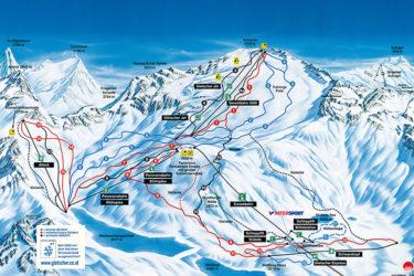 Insgesamt 17 Pisten (Kärntens höchstgelegene FIS-Abfahrt)
