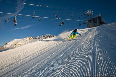 Beste Wintersportbedingungen am Mölltaler Gletscher