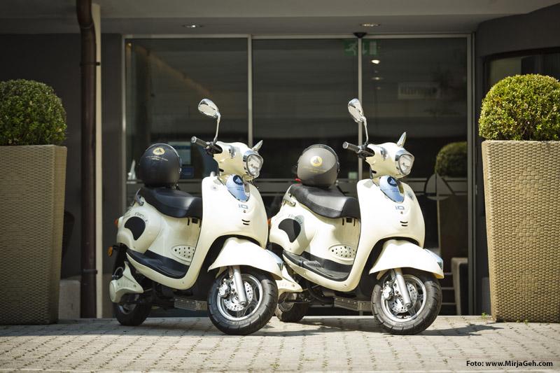 Scooter zum Verleih