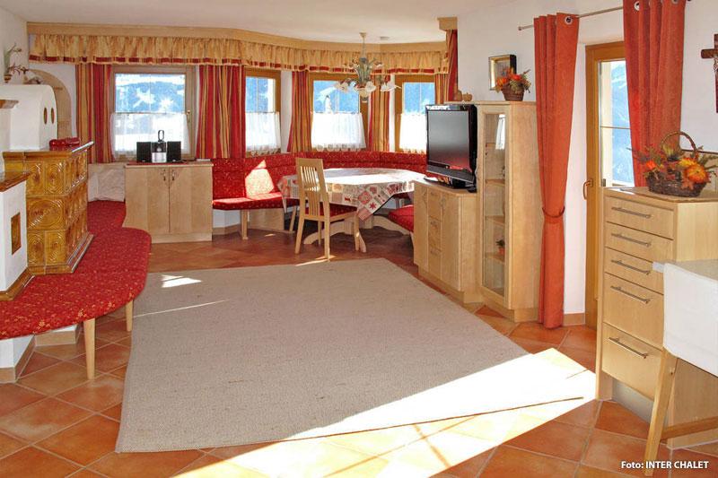 Wohnküche Ferienhaus in Tirol