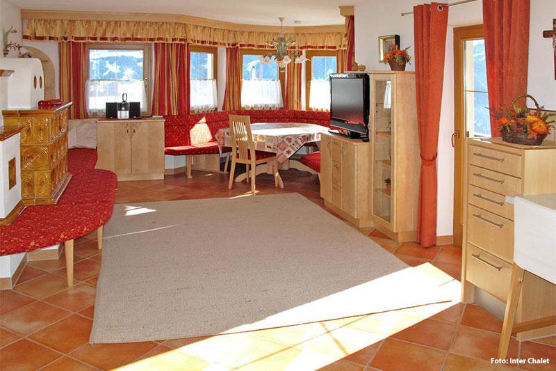 Wohnbeispiel Ferienhaus im Zillertal