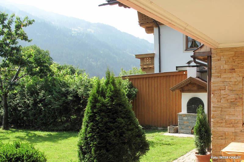 Ferienwohnung mit Garten im Zillertal