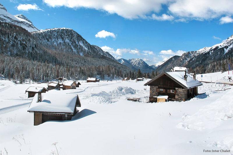Skihütte für bis zu 4 Personen in den Dolomiten