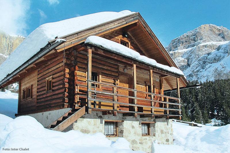 Hütte im Fassatal