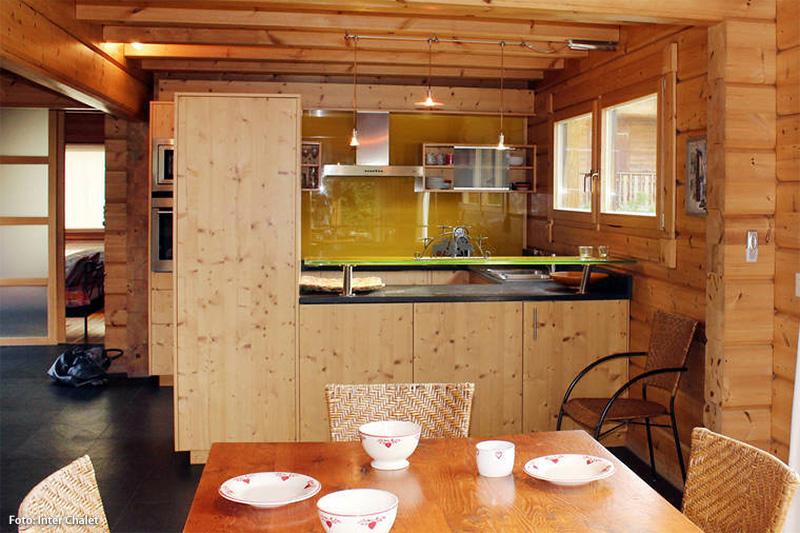 Küche im Komfortchalet