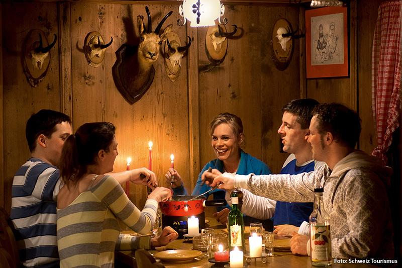 Winterurlaub im Chalet - Perfekt für einen Gruppenurlaub