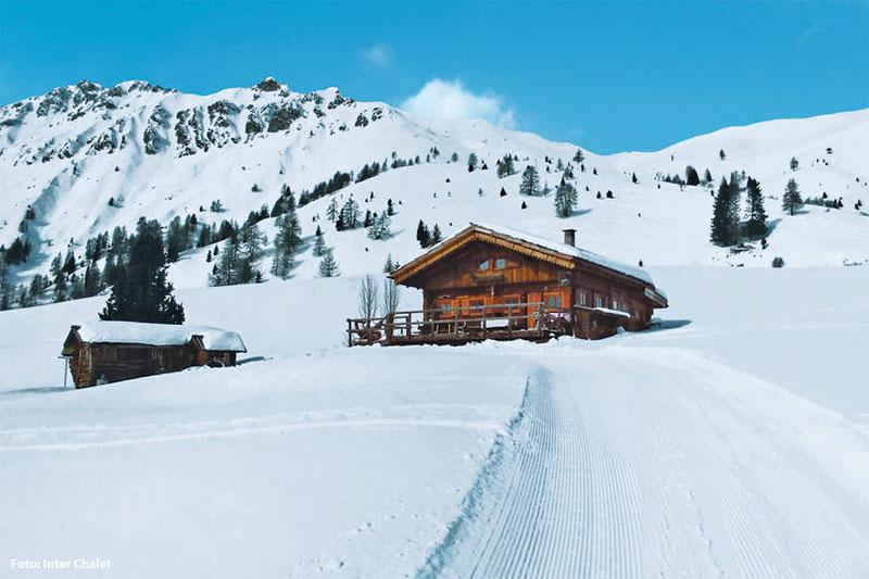 Urige Hütten und Chalets in den Skigebieten Gitschberg-Jochtal, Kronplatz, Corvara, Sellaronda