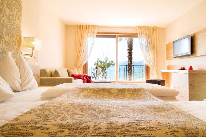 Gemütliche Zimmer und Suiten