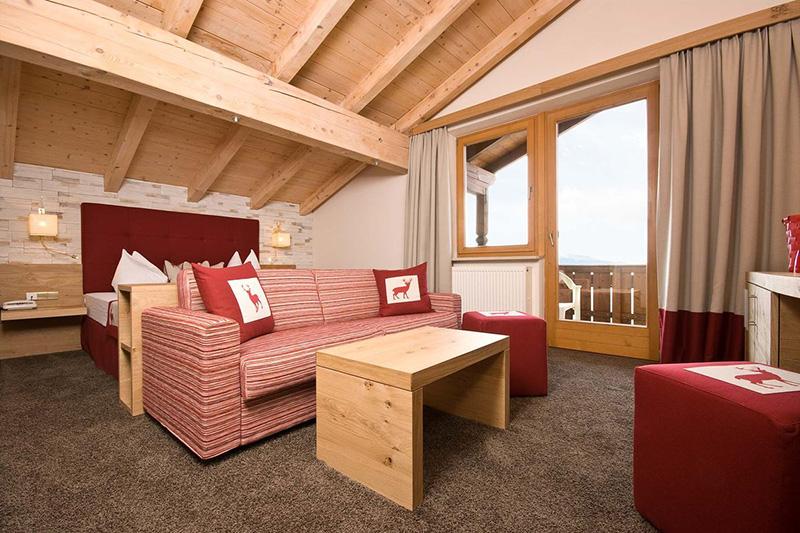 Panoramazimmer Süd mit Balkon 27 - 32 m²