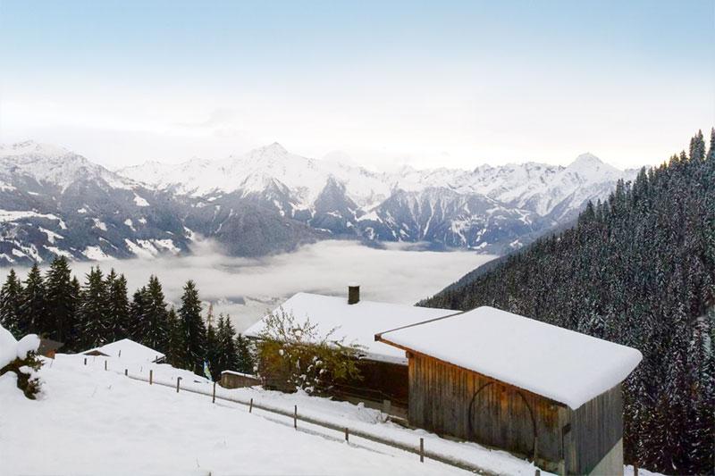 Winterurlaub auf der Sonnenalm Furteben im Zillertal