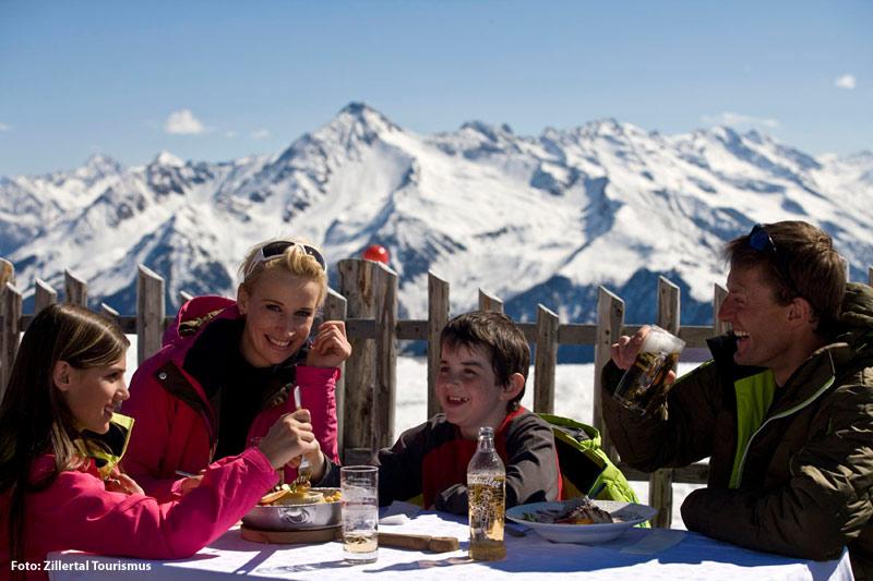 Familienwinterurlaub im Zillertal