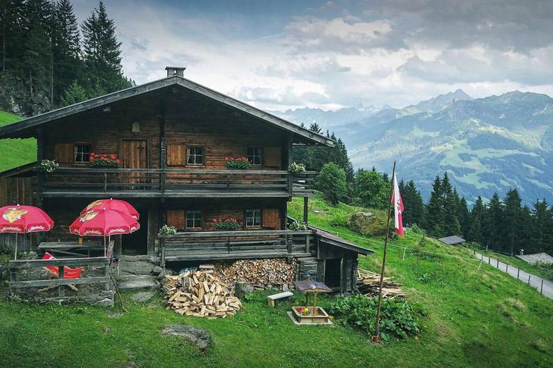Sommerurlaub auf der Sonnenalm Furteben im Zillertal