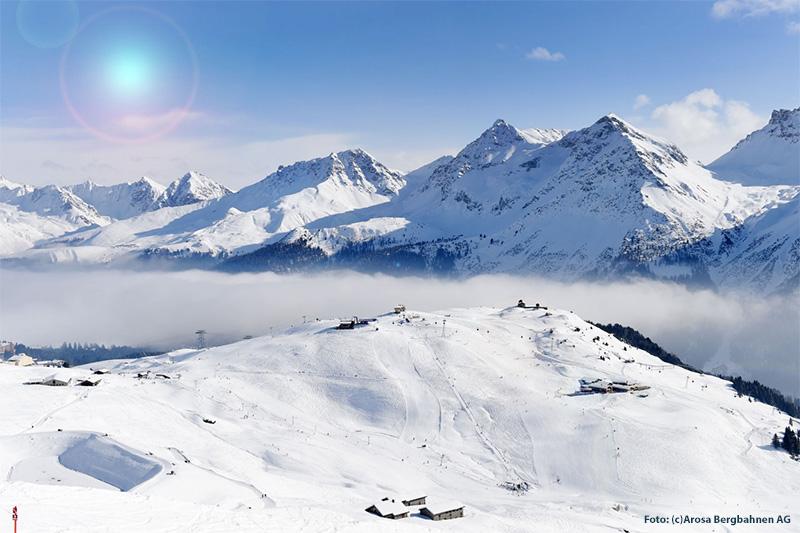 Skigebiet Arosa Lenzerheide in Graubünden
