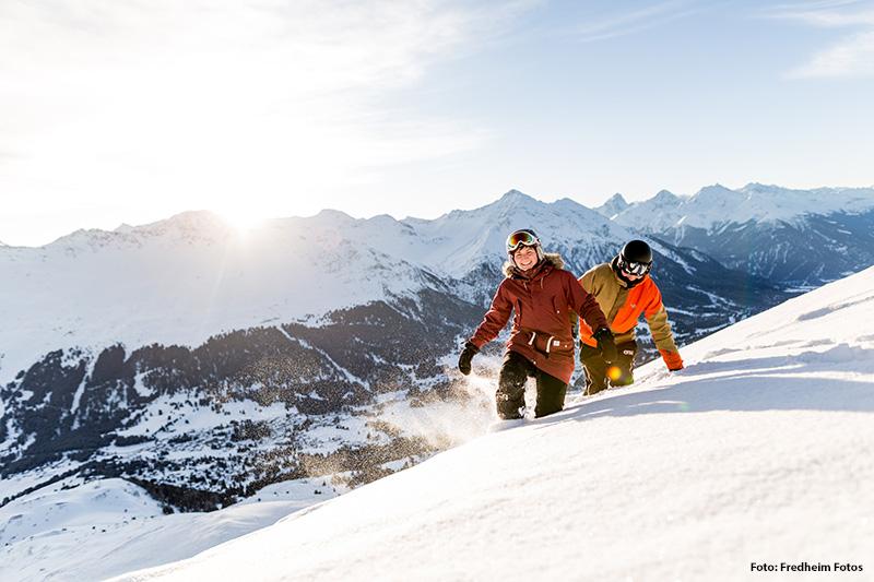 Skigebiet Arosa-Lenzerheide