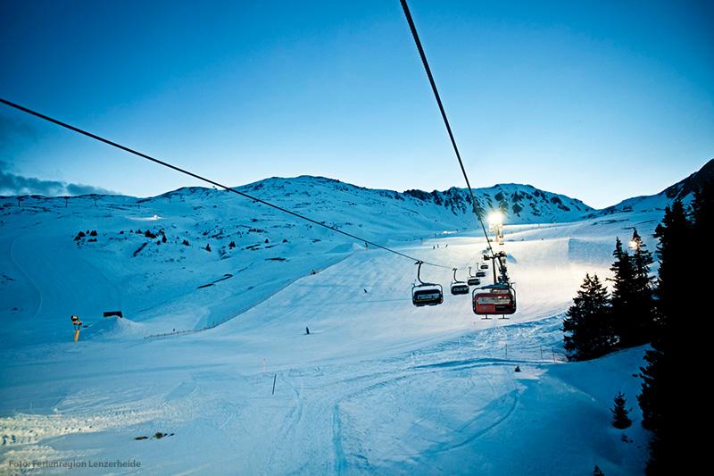 Skigebiet Arosa Lenzerheide