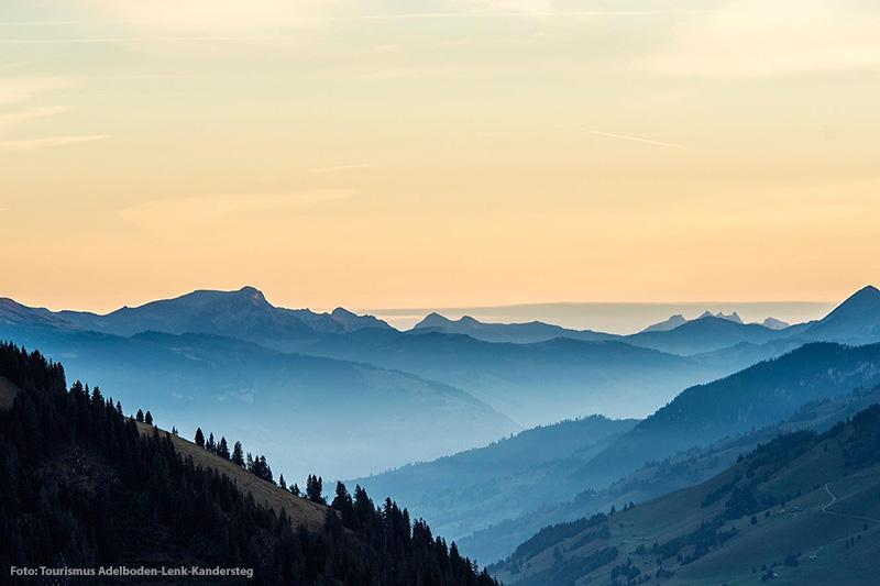 Sommerurlaub im Berner Oberland