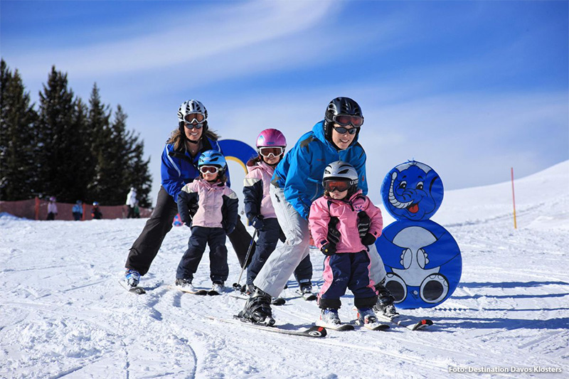 Familienfreundliches Skigebiet