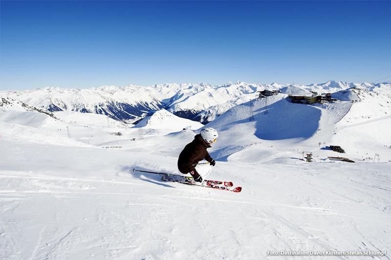 Skigebiet Davos-Parsenn