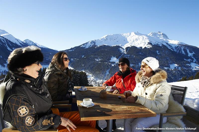 Sonnenterrasse Alpenroesli Klosters