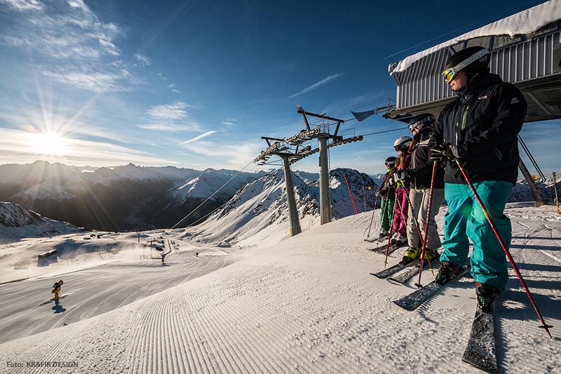Skigebiet Davos-Klosters