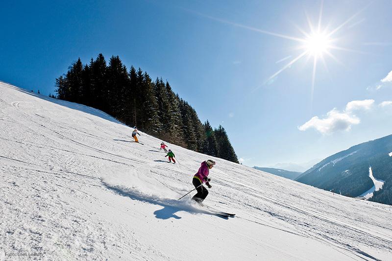 Skifahren im Skigebiet Filzmoos