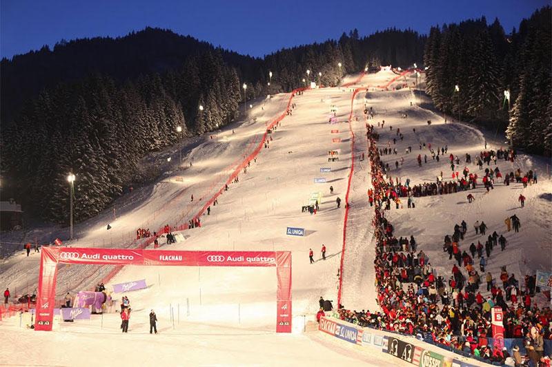 Hermann-Maier-Weltcupstrecke in Flachau