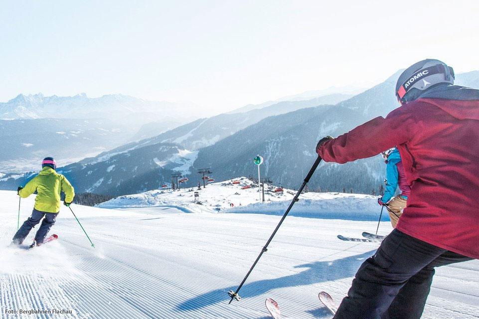 Skifahren im Snow Space Salzburg