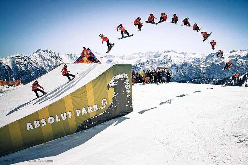 Absolut Park Flachauwinkl - der Snowpark im Salzburger Land