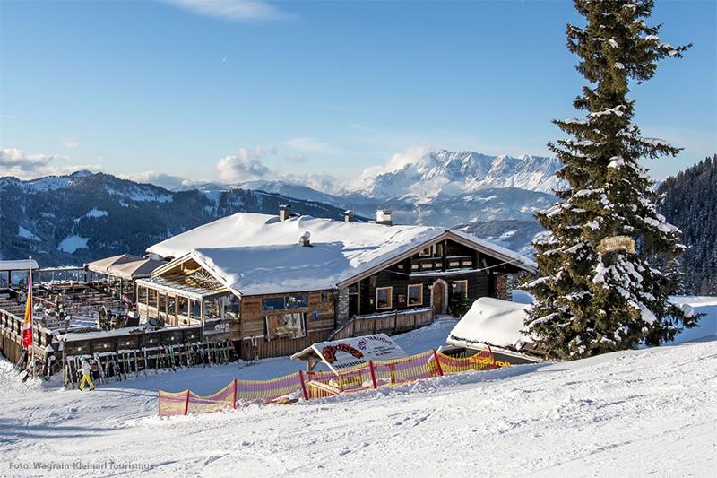 Skihütte SchüttAlm in Kleinarl