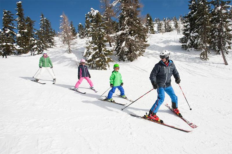 Familien-Skiurlaub in Kleinarl