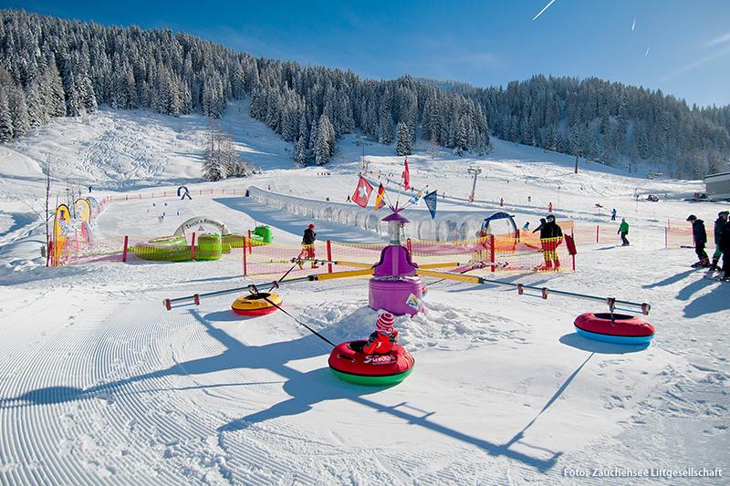 Zauchis Kinderland im Skigebiet Zauchensee
