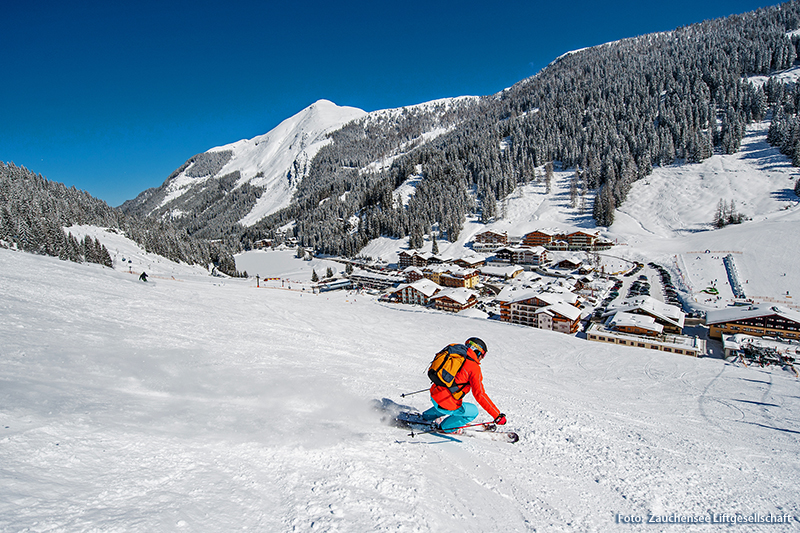 Ski-in/Ski-out im Skigebiet Flachauwinkl-Zauchensee